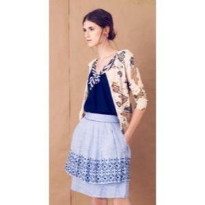 Anthropologie Odille Alpine Dream Skirt